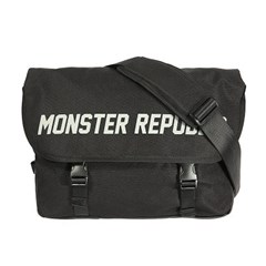 MONSTER SCOTCH MESSENGER BAG / BLACK