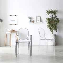 [폴앤코코] 고스트 인테리어 디자인 의자_(1011796)