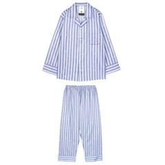 알콩단잠 남자잠옷 런스트라이프 면 홈웨어 라운지웨어 세트