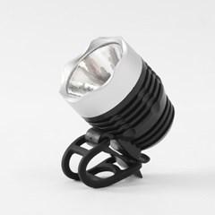 LED 자전거 전조등(실버) / 자전거라이트
