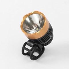 LED 자전거 전조등(골드) / 자전거라이트
