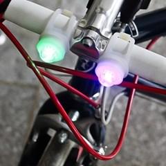 2p 반지형 LED 자전거안전등/잡화점판매용 행사