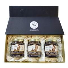 멀바디 100% 하와이안코나 인스턴트 커피 3병선물세트(쇼핑백포함)