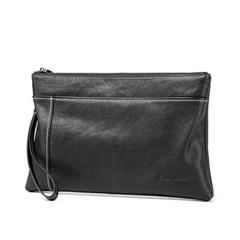 [Bison Denim] 스티치라인 클러치백 N8245-1B/파우치백/손가방