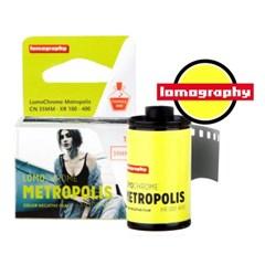 로모크롬 메트로폴리스 35mm 필름 ISO100-400 1롤