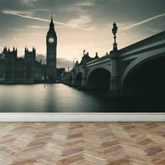 풍경디자인벽지 인테리어뮤럴벽지 런던