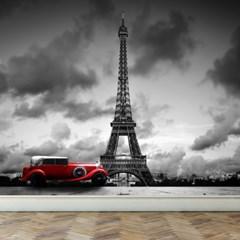 고급인테리어벽지 풍경디자인월 파리의에펠탑