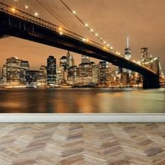테마벽지 벽지인테리어 실사벽지 뉴욕 스카이라인
