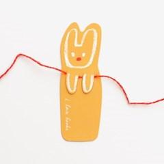 토끼 책갈피(10개)