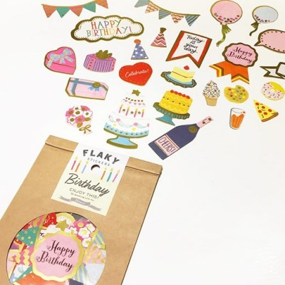 [Greetinglife] FLAKY STICKERS 6 options
