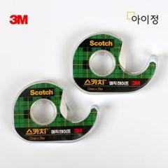 3M 스카치테이프 1+1 810D(12mm*20m) 매직테이프_(2675554)