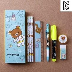 리락쿠마 베스트 문구세트/학원학교 사은선물 학용품