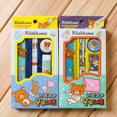 리락쿠마 어린이 문구세트 신학기학용품