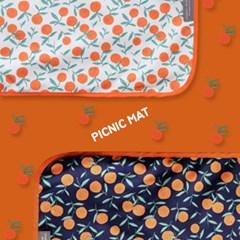 피크닉매트 상큼오렌지-2color