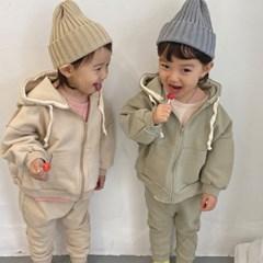 오) 포포 후드집업 아동 상하세트