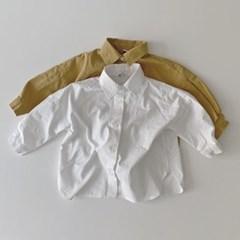 오)베이직 아동 롱셔츠
