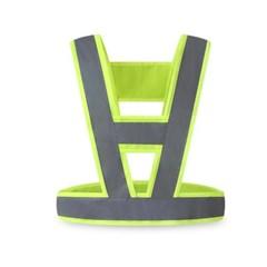 야광 안전조끼띠(그린) (XXL) /형광 반사 안전벨트