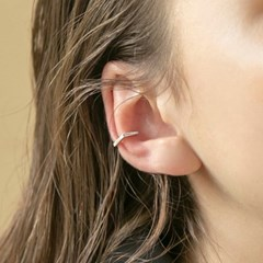 hexagon earcuff (2colors)
