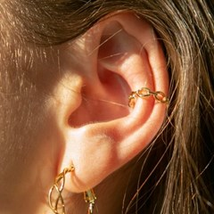 chain earcuff (2colors)