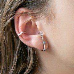 3cubic earcuff earrings (2colors)