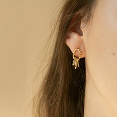 dangle earrings (2colors)