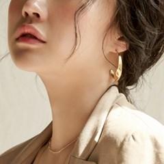 [매디]국화 Bold Petal Earring