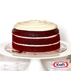 [최고인기] 실크 크림 치즈 프로스팅으로 만든 레드벨벳 케이크