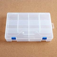칸칸 수납함 투명 멀티박스/부품함 소품함 컬렉션박스
