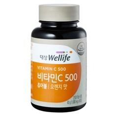 대상웰라이프 비타민C 500 오렌지맛_(1083862)