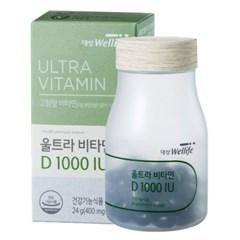 대상웰라이프 울트라 비타민 D1000IU_(1083860)