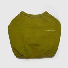 베이직 크롭 티셔츠 올리브