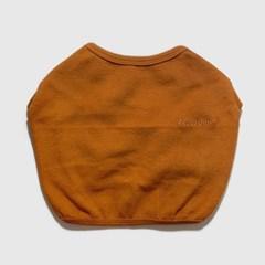 베이직 크롭 티셔츠 카멜