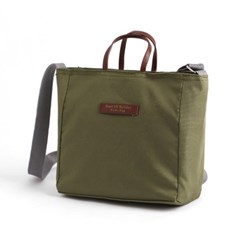 스니트리 여행용 크로스백(카키) / 캐리어 보조가방