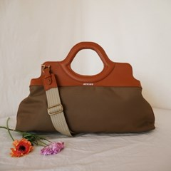 FLAT(플랫) BAG - BROWN