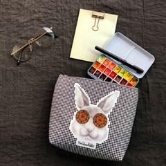 토끼 파우치 - 펀글래스 토끼