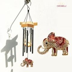 오로벨 행운과 부의 상징 드림벨 코끼리 레드