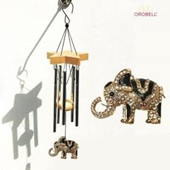 오로벨 행운과 부의 상징 드림벨 코끼리 블랙