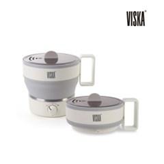 비스카 마이키친 접이식 실리콘 멀티포트 VK-S1600NK