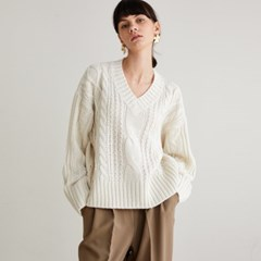 Isabel Wool Cable Knit_Ivory_(144833)
