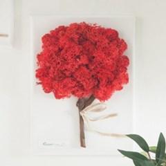 전구트리액자set 24cmP(펜포함) 공기정화 식물 스칸디아_(1732835)