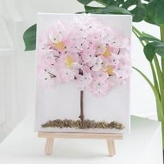 벚꽃액자set 30cmP(펜+이젤포함) 조화 인테리어 소품_(1732831)