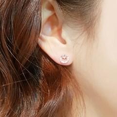 OST 도일리 로즈골드 귀걸이 OTS118403QPW