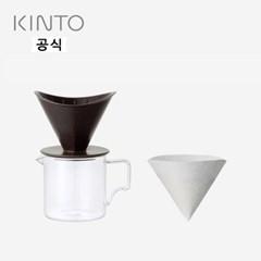 킨토 OCT 드립세트 2컵 - 블랙_(1474581)