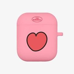 heart pattern 에어팟 케이스[pink]_(889721)