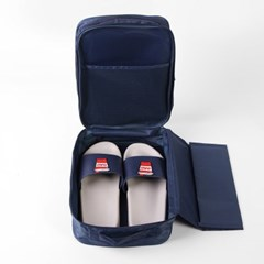 트레블 신발파우치(네이비) / 여행용 신발가방