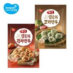 동원 개성 얇은피만두[고기,김치]1kg×1봉
