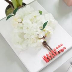 전구벚꽃나무액자set 30cmP +펜 FMFUFT 조화 조화화분_(1734190)