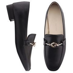 SPUR[스퍼] 로퍼 PS9020 String knot loafer 블랙