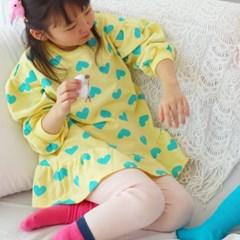 [마미버드] 봄향기하트티(옐로우)