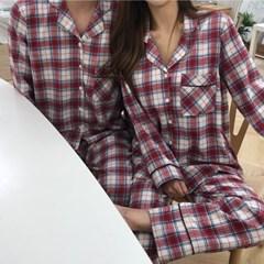 허쉬 커플잠옷 환절기 파자마